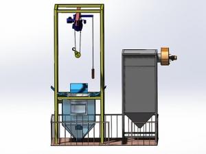 平台式吨袋拆包及气力输送系统